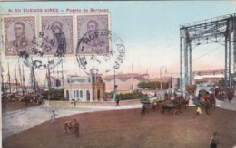 CPA Argentine / Republica Argentina - Buenos Aires - Puente De Barracas  - 1911 - Argentine