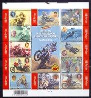 België - 2004 - OBP -  ** Blok 117 - PL 4 - Motocross ** - Belgien