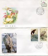 Chine-1987-FDC- 6 Enveloppes - 1980-89