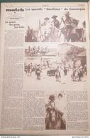 """1932 LES SPORTIFS """" GARDIANS """" DE CAMARGUE - MATCH L'INTRAN - Periódicos"""