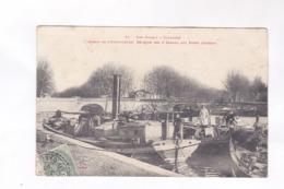 CPA DPT 31 TOULOUSE, BASSIN DE L EMBOUCHURE, REUNION DES  3 CANAUX AUX PONTS JUMEAUX En 1907! - Toulouse