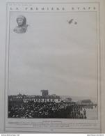 1910 AVIATION - CIRCUIT DE L'EST - ISSY LES MOULINEAUX - TROYES - CORBEIL- NOGENT SUR SEINE - MORMANT - BRIENNE - Libros, Revistas, Cómics