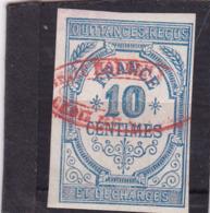 T.F. De Quittances N°1 - Revenue Stamps