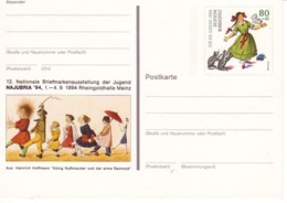 ALLEMAGNE : 1994 -Entier Postal Neuf - Najubria'94 - [7] República Federal