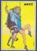 """= Association Cartophilique De L'Entre Deux Mers UCL M.A.L. """"Zodia Circus Août"""" D'après Bellac - Sammlerbörsen & Sammlerausstellungen"""