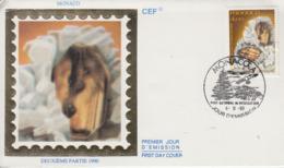 Enveloppe  FDC  1er  Jour  MONACO    Minéraux  Du  Mercantour  :   BROOKITE    1990 - Minéraux