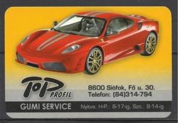 Hungary, Ferrari F 430, Tyre Service Ad, 2009. - Kalenders
