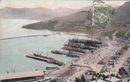 CPA Nouvelle-Zélande / New Zealand - Port Lyttelton - 1907 - Nouvelle-Zélande