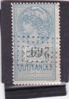 T.F. De Quittances N°12 - Revenue Stamps