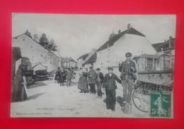 Pin-l'Emagny - Vue Intérieure Du Pays - Belle Animation En Ce Jour De Fête - 1903 - France