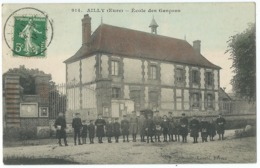 AILLY    ECOLE DES GARCONS    BELLE ANIMATION - France