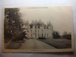 Carte Postale Chateau De Réaumur (85) (CPA Dos Non Divisé Non Circulée) - France