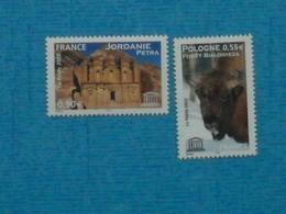 FRANCE - SERVICE- UNESCO -n° 132/3neuf Xx - Service