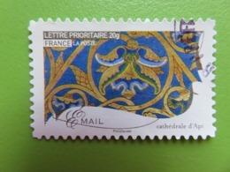 Timbre France YT 261 AA - Métiers D'art - Email (Ornement Cathédrale D'Apt) - 2009 - Cachet Rond - Autoadesivi