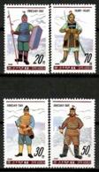 Korea North 1990 Corea / Warriors Costumes MNH Trajes De Guerreros Kostüme / Cu13007  34-19 - Otros