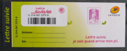 FRANCE - 2015 - YT LS1 ** - TIMBRAGE LETTRE SUIVIE - 2013-... Marianne Van Ciappa-Kawena