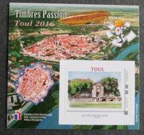 FRANCE - 2016 - YT FFAP 12 ** - TIMBRES PASSION TOUL 2016 - FFAP