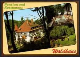 C8052 - TOP Straussberg - Restaurant Gaststätte Waldhaus - Verlag Bild Und Heimat Reichenbach - Alemania