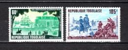 TOGO PA N° 331 + 332  NEUFS SANS CHARNIERE COTE  2.50€   LA FAYETTE - Togo (1960-...)