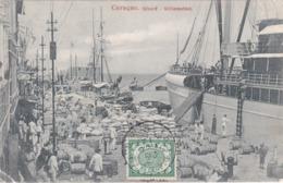 CPA Caraçao / Curaçao - Wharf - Willemstad - 1912 - Curaçao