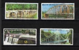 Sri Lanka - 2011 - Sri Lanka Bridges Of Sri Lanka  - Complete Set 4 - Used. - Ponti