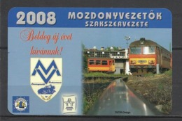 Hungary, Diesel Engine, Runners Union  Ad, 2008. - Kalenders