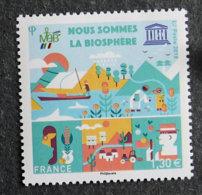 FRANCE - TIMBRES DE SERVICE - UNESCO - 2018 - YT 172 ** - Nous Sommes La Biosphère - Nuovi