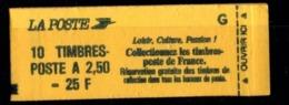 France Carnet 2715-C6 MARIANNE DE BRIAT 2,50fr Fermé - Markenheftchen