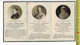 DP 8190 - Georges Et Henry Et Jules TIBERGHIEN - TOMBE  POUR LA FRANCE - 1914-1918 - 1914-18