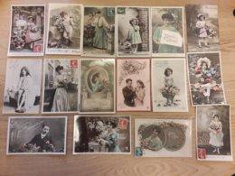 Cartes Fantaisies Lot De 100 Cartes - 100 - 499 Cartoline