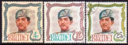 BRUNEI 1968 SG 154-56 Compl.set Used Sultan's Birthday - Brunei (...-1984)