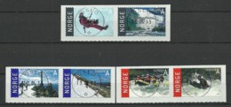 Norway 2013 Tourism Central Cancel Y.T. 1759/1764 (0) - Norwegen