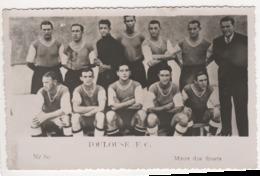 ° FOOTBALL ° TOULOUSE F.C. ° PHOTO MIROIR DES SPORTS ° PHOTO FORMAT CARTE POSTALE ° - Football