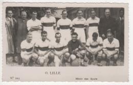 ° FOOTBALL ° O. LILLE ° PHOTO MIROIR DES SPORTS ° PHOTO FORMAT CARTE POSTALE ° - Soccer
