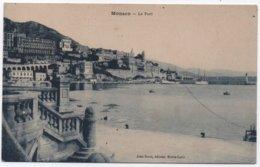 Carte Postale Neuve MONACO LE PORT éditeur JEAN BOCCI Monte-Carlo - Porto