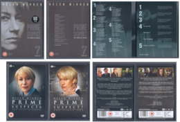 DVD Series Prime Suspect (all Episodes) - DVD