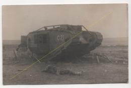 ° 59 ° CAMBRAI ° WW1 ° TANK ANGLAIS ° CHAR ° 1917 ° CARTE PHOTO ALLEMANDE ° - Cambrai