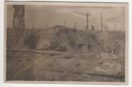 ° 59 ° CAMBRAI ° WW1 ° TANK ANGLAIS ° CHAR ° 1917 ° TRANCHEE ALLEMANDE ° CARTE PHOTO ALLEMANDE ° - Cambrai