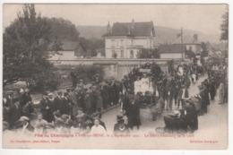 ° 10 ° BAR SUR SEINE ° Char ° Défilé Faubourg De La Gare ° Fête Du Champagne Le 4 Septembre 1921 ° Collection Bourgogne - Bar-sur-Seine
