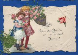 Bonne Fête  Petite Filles   Fleurs    Ajouti - Auguri - Feste