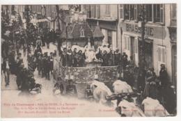 ° 10 ° BAR SUR SEINE ° Char De Bar Sur Seine ° Fête Du Champagne Le 4 Septembre 1921 ° Collection Bourgogne ° - Bar-sur-Seine