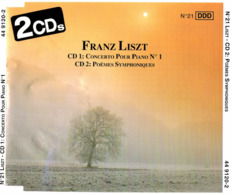 CD N°790 - FRANZ LISZT - COMPILATION 2 CD - Classique