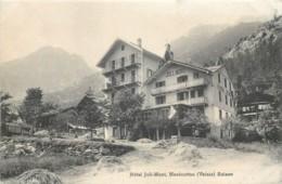 Suisse - Valais - Marécottes - Hôtel JOLI-MONT - VS Valais