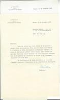 Willy Spühler (1902 - 1990) LS Edmond Audemars SUISSE AVIATION AUTOGRAPHE ORIGINAL AUTOGRAPH /FREE SHIPPING REGISTERED - Autogramme & Autographen