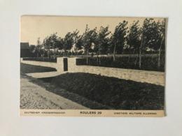 Roeselare - Kriegerfriedhof 29 Roulers De Ruiter  Colliemolenhoek Cimetière Allemand  Militaire - Photo Kerling - Roeselare