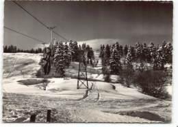 La Féclaz - Départ Pour Les Pistes Par Le Telebenne D'Orionde   Cpsm Edit Cim N° 7359. Station De Ski. Neige - Autres Communes