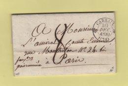 Carhaix - 28 - Finistere - 30 Dec 1830 - 1801-1848: Précurseurs XIX
