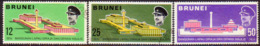 BRUNEI 1969 SG 172-74 Compl.set Used Opening Of Royal Audience Hall - Brunei (...-1984)