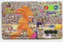 TK 11308 FILM / CINEMA - Thailand - 12call Prepaid - Cinema