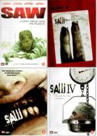 DVD Series Saw 1+2+3+4 - DVD